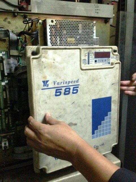 YASKAWA DC CONTROLLER VARISPEED 585 REPAIR IN MALAYSIA INDONESIA SINGAPORE