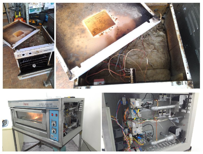 Repair and Service Gas/Electric Oven ; Membaiki Gas/Elektrik Ketuhar