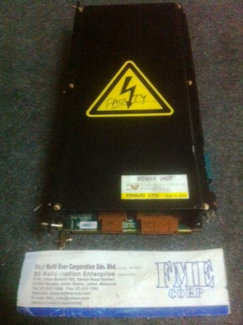 FANUC LTD FANUC POWER UNIT A16B-1211-0890-01 REPAIR MALAYSIA SINGAPORE INDONESIA