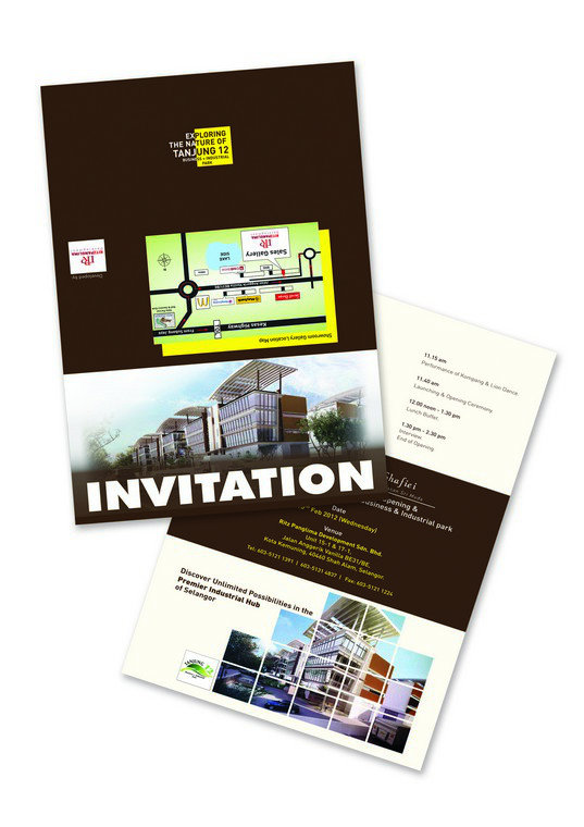 Ritz Invitation Card