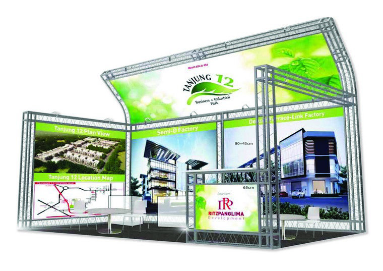 Latest Booth Design for RP