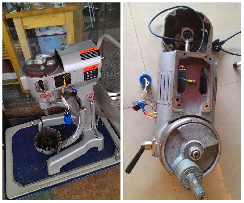 ������� | Membaiki Pengadun/Penguli Tepung | Universal Flour Mixer Repair