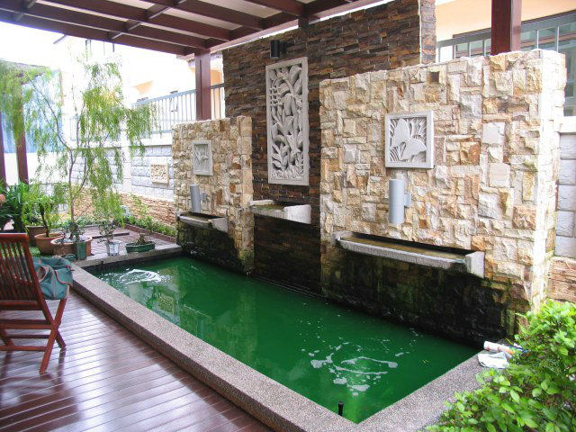 Austin heights koi pond design and build johor bahru jb for Koi pool design