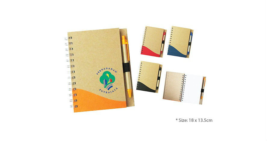ECO Notepad (with Pen) (NPS_NP03)