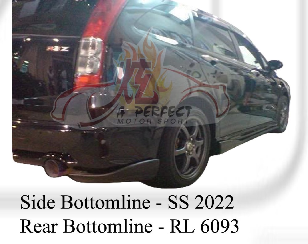 Honda Stream 2006 Side & Rear Bottomline