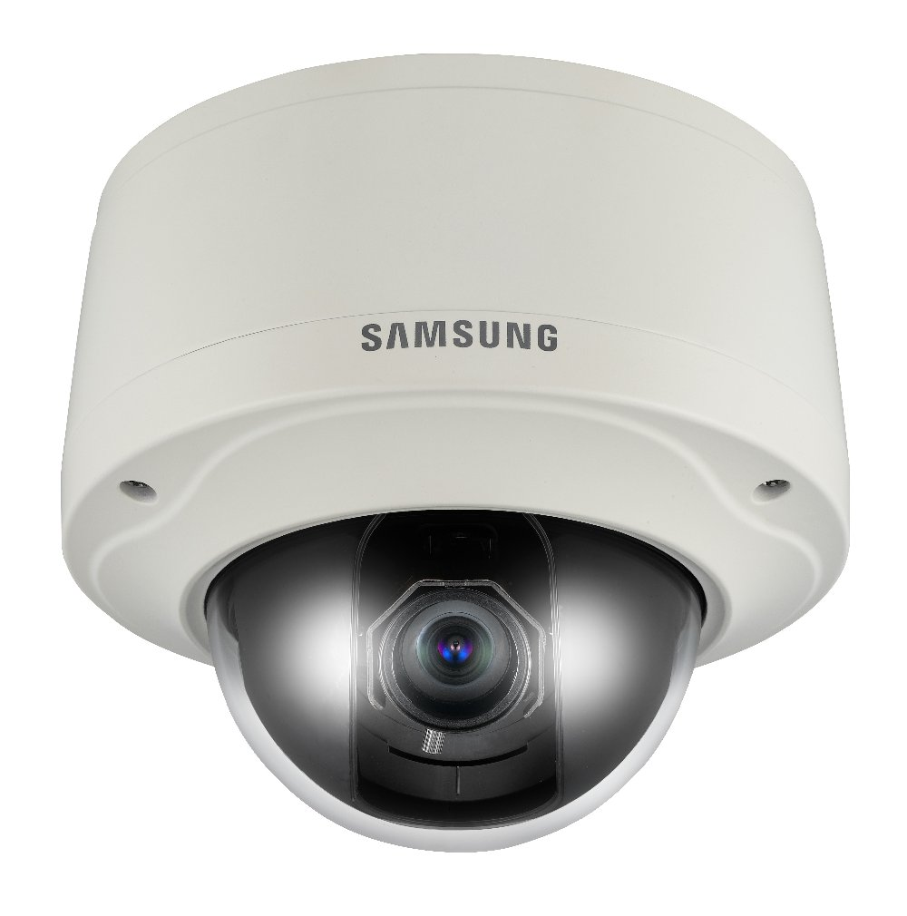 Samsung SCV-3080 Dome Security Camera Vandal Weather Proof 3.9x Optical Zoom