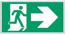 Emengency Exit Sign