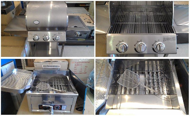 ��ʽú��BBQ��¯����ը¯��Western Gas BBQ Grill & Deep Fryer