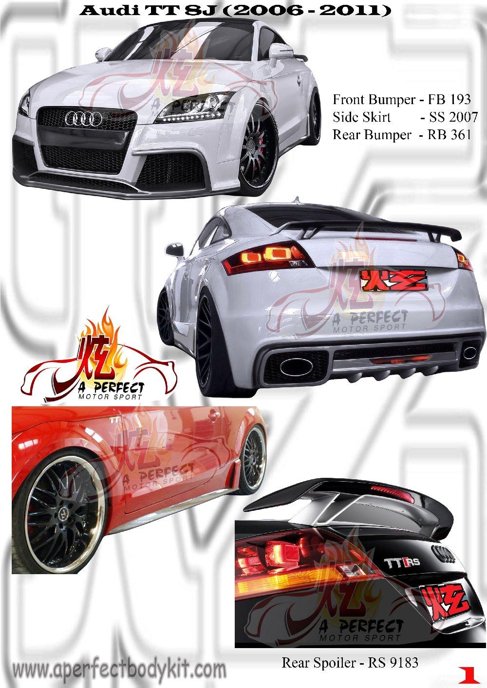 Audi Tt 8j Bodykit Audi Tts Johor Bahru Jb Malaysia Body