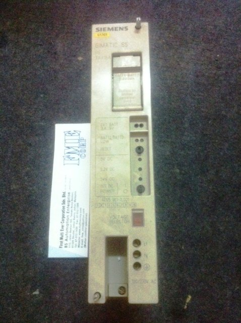 SIEMENS SIMATIC S5 PLC POWER SUPPLY 6ES5951-7LD21 REPAIR MALAYSIA INDONESIA SINGAPORE