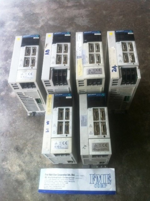 MITSUBISHI SERVO AMPLIFIER MR-J2S-70B MR-J2S-100B MR-J2S-350B REPAIR INDONESIA MALAYSIA SINGAPORE