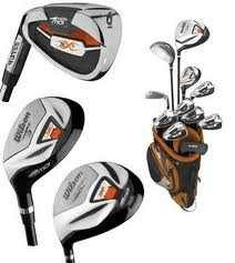 Wilson Left Handed Wilson X-31 Package Set