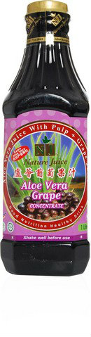 NJ Aloe Vera Grape Concentrate