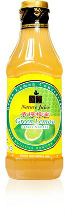 NJ Green Lemon Concentrate 1 litre