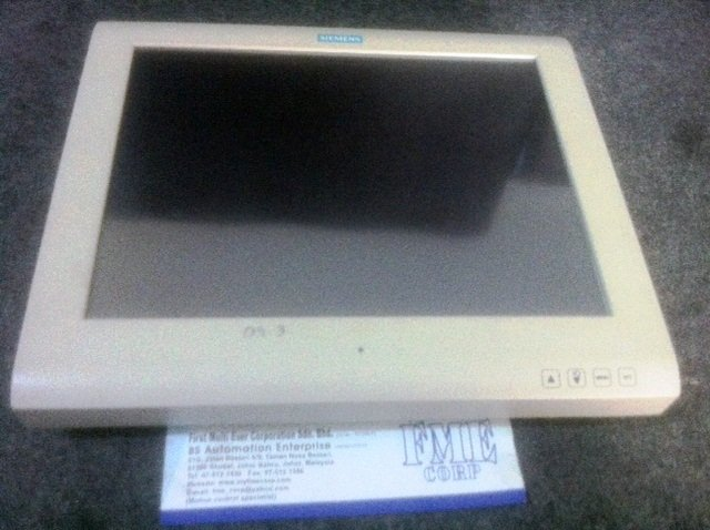SIEMENS TOUCH SCREEN REPAIR SCD1520-TDC 6GF6230-2ME01 DC18-36V REPAIR MALAYSIA SINGAPOR INDONESIA