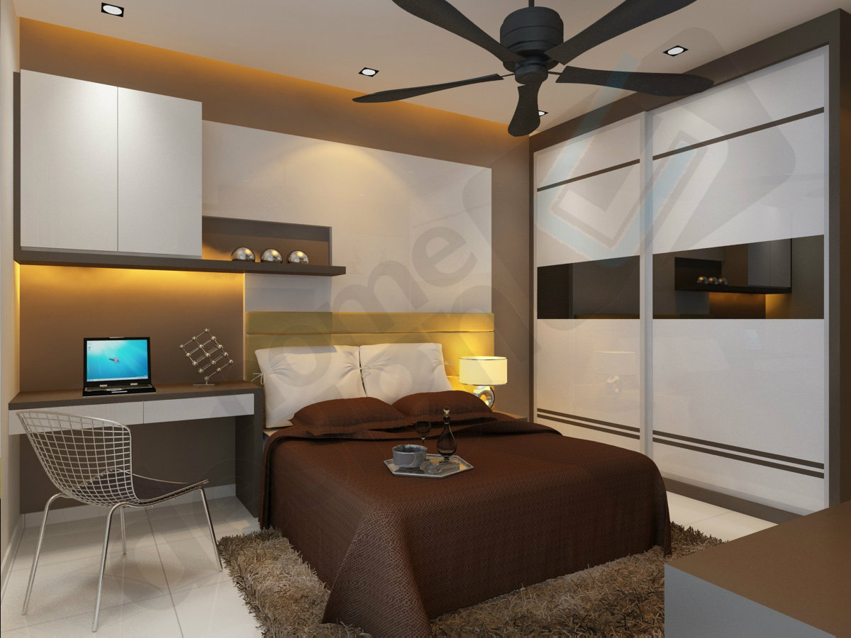 Bedroom 3d design master bedroom skudai jb design cai yi for 6 bedroom house designs 3d