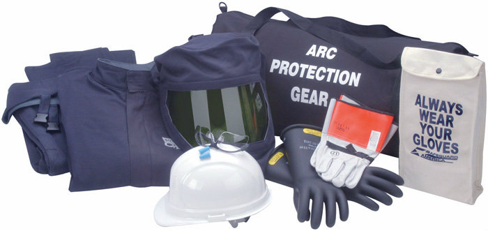 CPA Arc Flash Kit & Suit - 40 Calorie with Jacket and Bi