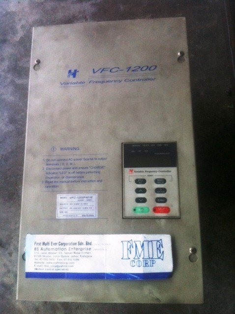 HITAKE VFC-1200 VARIABLE FREQUENCY CONTROLLER VFC-1200 INVERTER REPAIR MALAYSIA INDONESIA