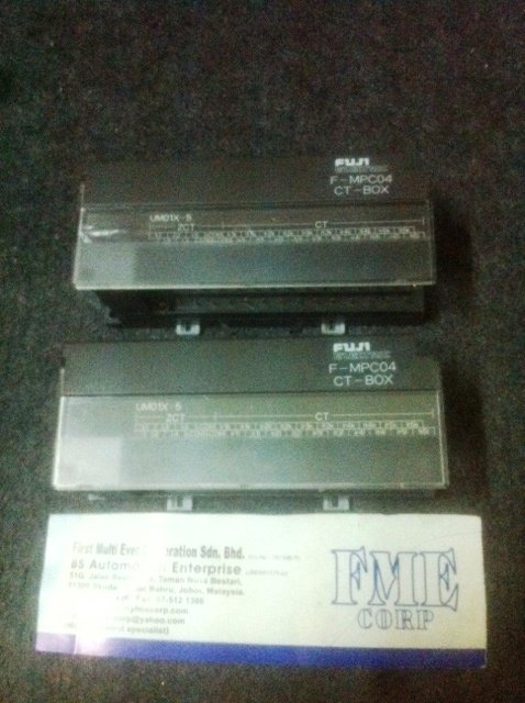 FUJI ELECTRIC F-MPC04 CT-BOX UM01X-5 REPAIR MALAYSIA INDONESIA