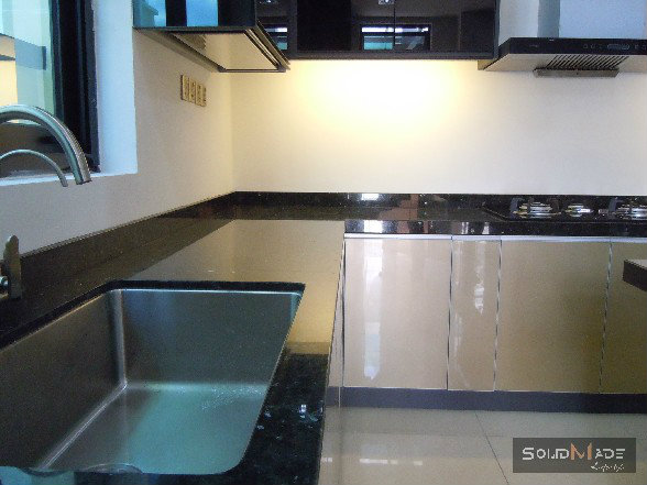 Medium image of aluminum kitchen cabinet with granite table top   kitchen table top