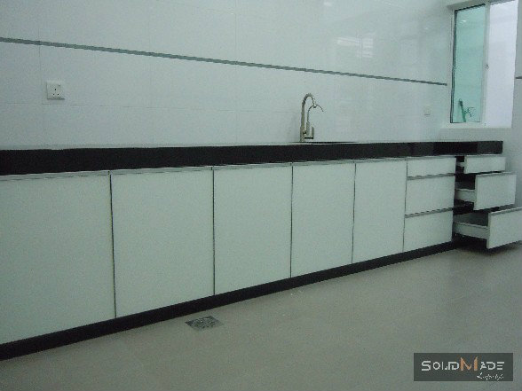 Aluminum Basin Door With Concrete Table Bench Top Aluminum Kitchen Cabinet Aluminum Kitchen