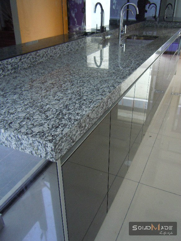 Merveilleux Aluminium Table Top With Granite Top