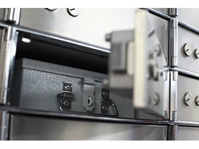 Rated Security Equipment-Safe Deposit Lockers