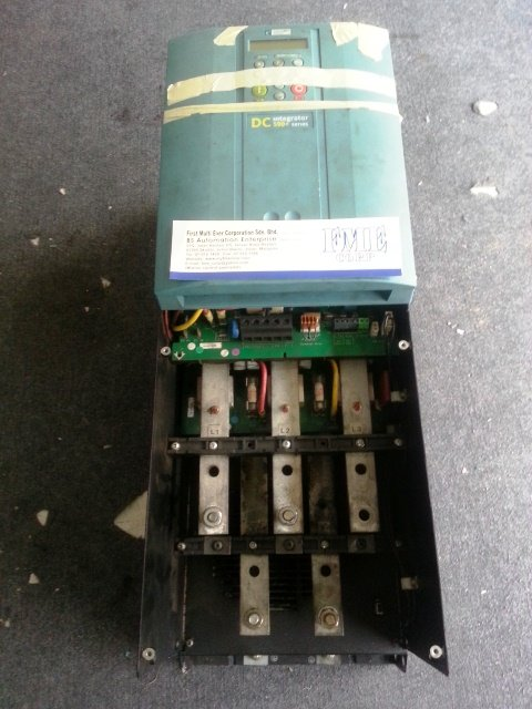 PARKER SSD EUROTHERM DC DRIVES INTEGRATOR 590+ SERIES  590P/0500/500/0011 REPAIR JAKARTA INDONESIA
