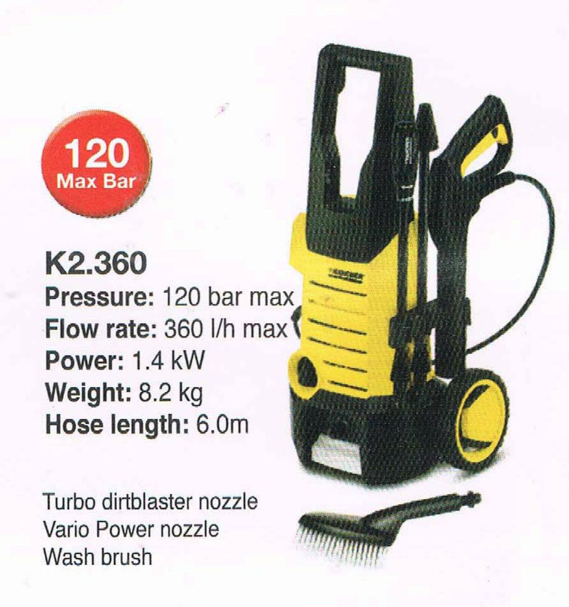 Karcher K2 360 ★ Karcher Johor Bahru Jb Malaysia Supply