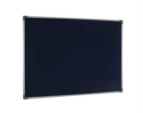 Velvet Notice Board With Aluminium Frame