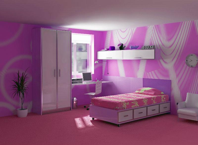 Kinderzimmer gestalten farblich