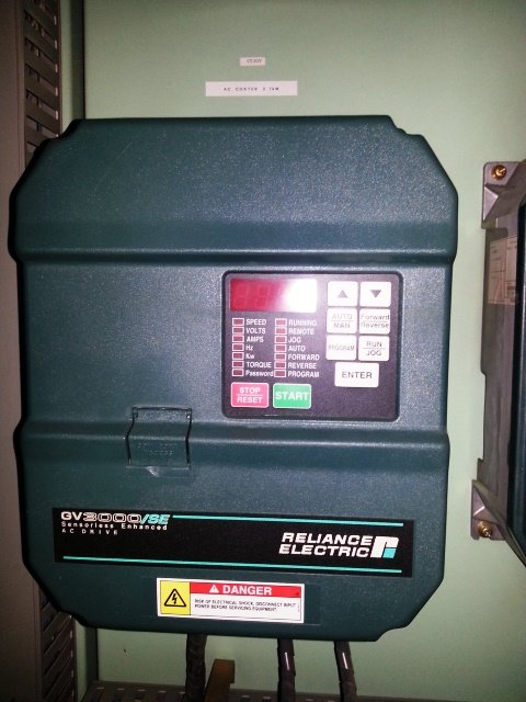 RELIANCE ELECTRIC GV3000/SE SENSORLESS ENHANCED AC DRIVE REPAIR THAILAND SINGAPORE MALAYSIA