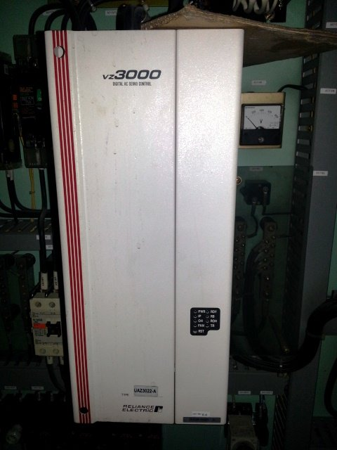 RELIANCE ELECTRIC VZ3000 DIGITAL AC SERVO CONTROL UAZ3022-A MALAYSIA INDONESIA THAILAND SINGAPORE