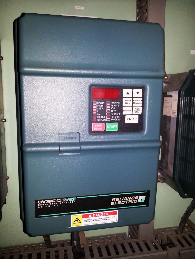 RELIANCE ELECTRIC GV3000/SE SENSORLESS ENHANCED AC DRIVE REPAIR JAKARTA INDONESIA MALAYSIA SINGAPORE