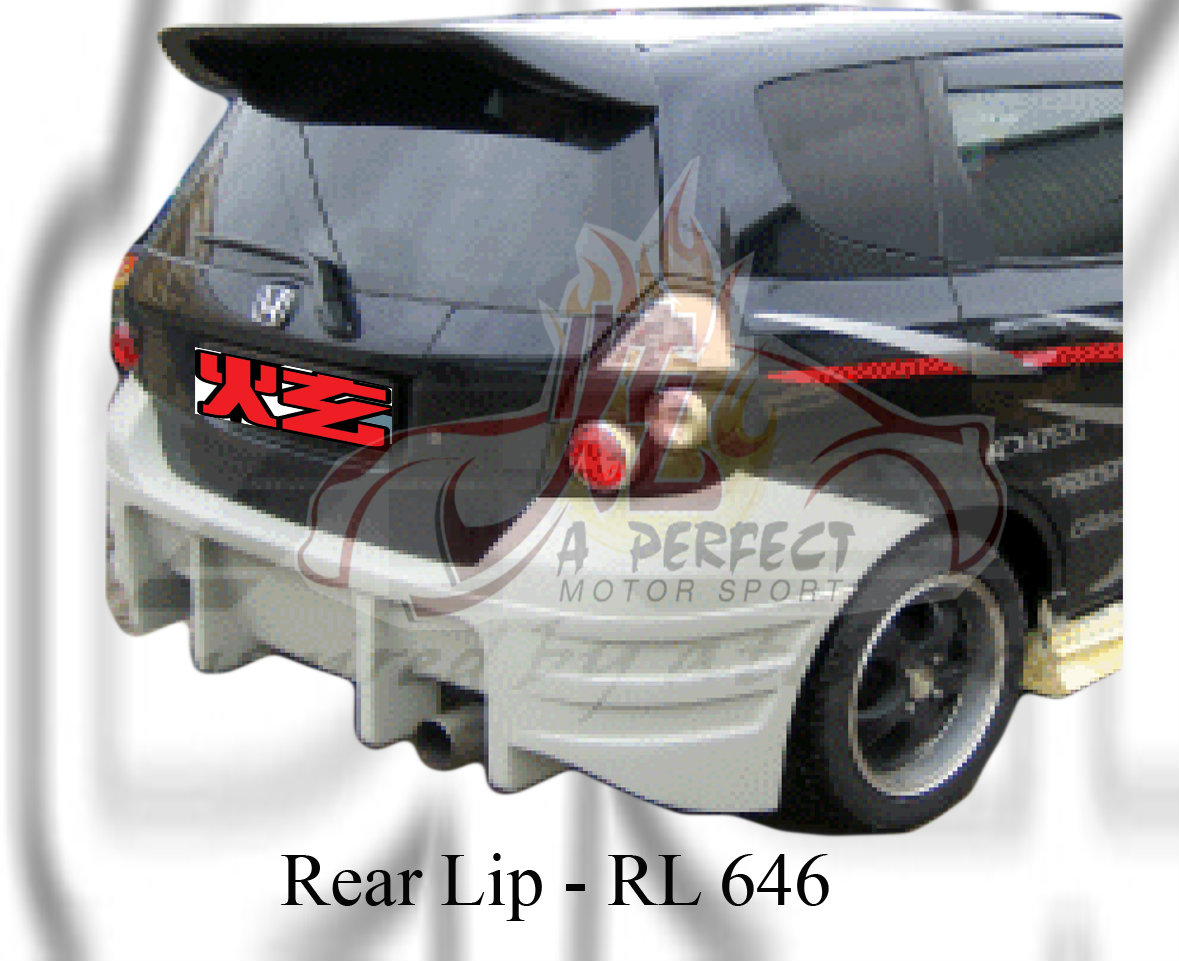 Honda Fit 2006 Rear Lip