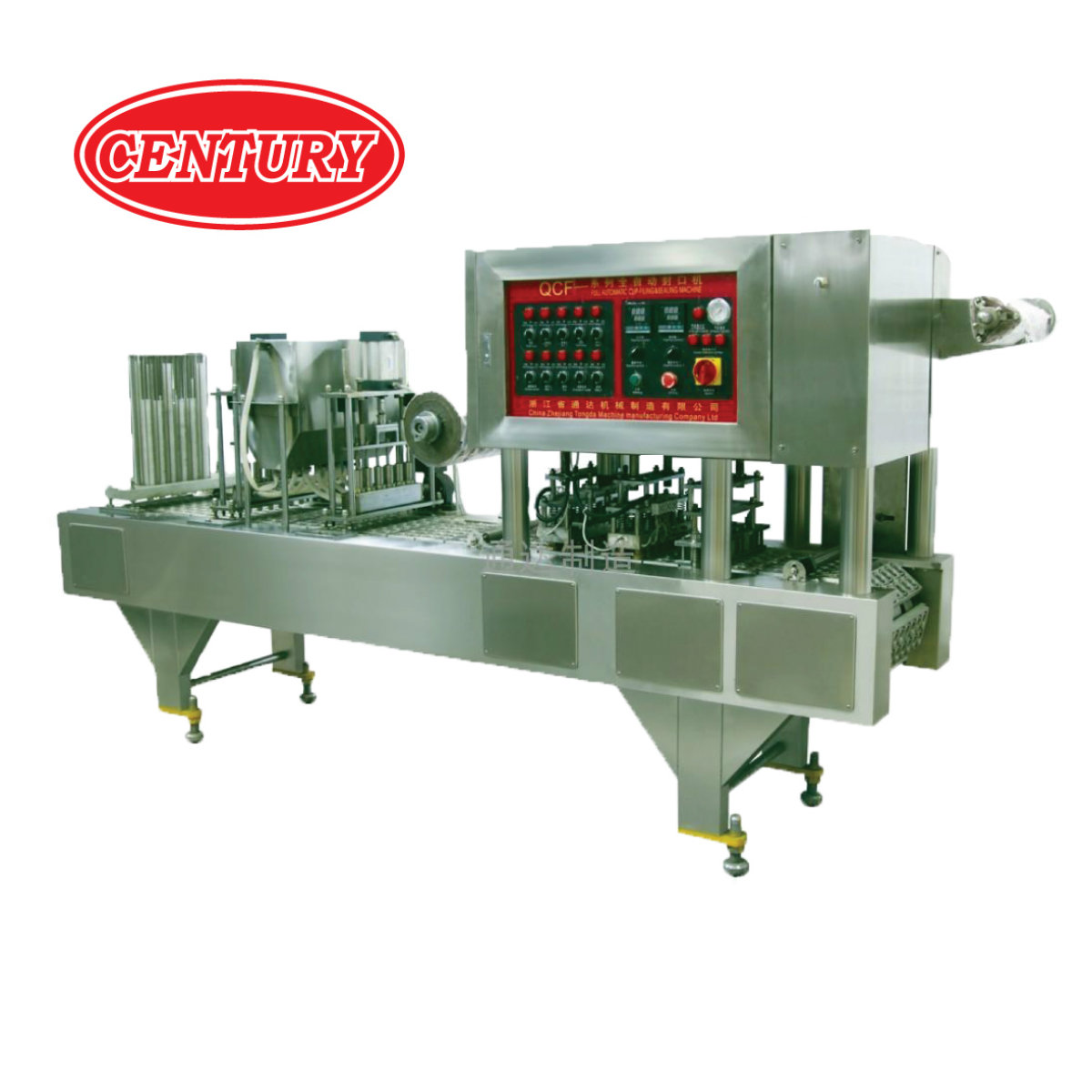 Pneumatic Jelly Filling & Sealing Machine