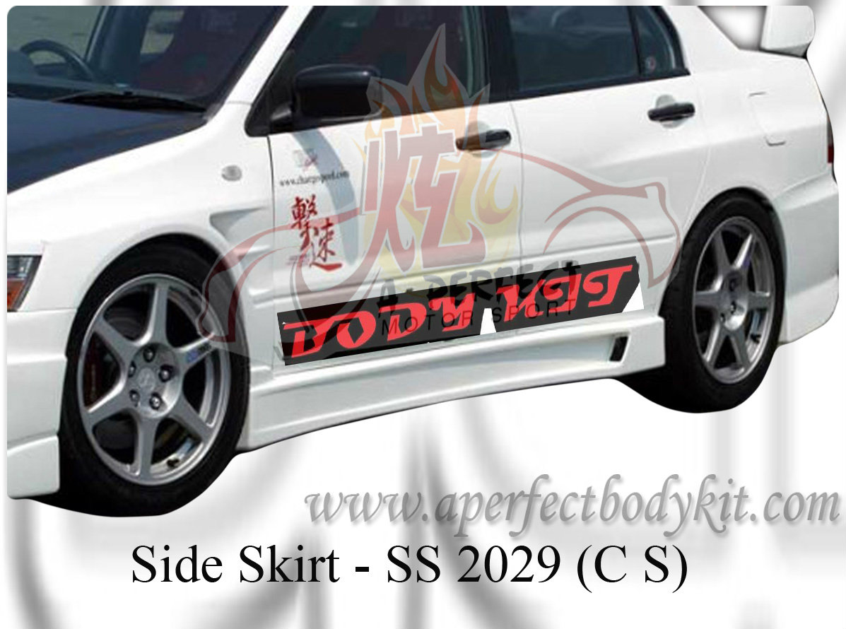 Mitsubishi Evo 9 CS Side Skirt