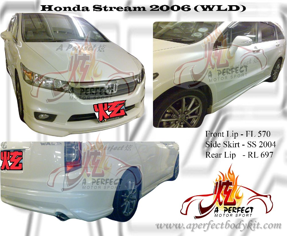 Stream 2006 WLD Bodykits