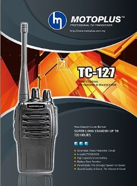 motoplus walkie talkie TC-127