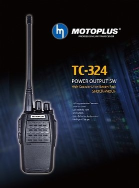 MOTOPLUS WALKIE TALKIE TC-324