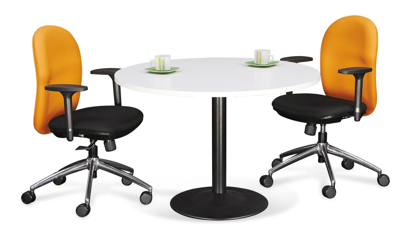 Drum Round Meeting Table