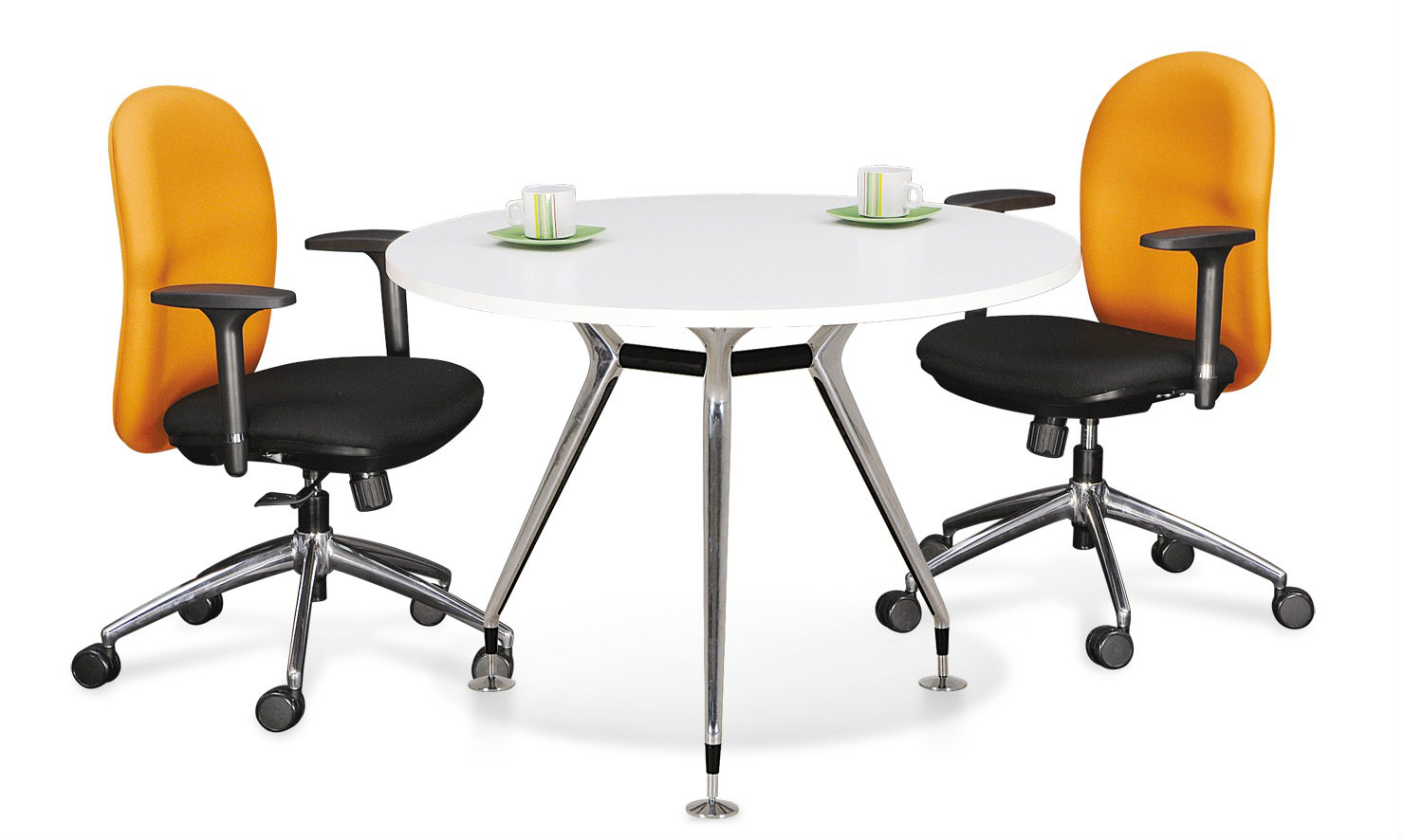 Abies Round Meeting Table