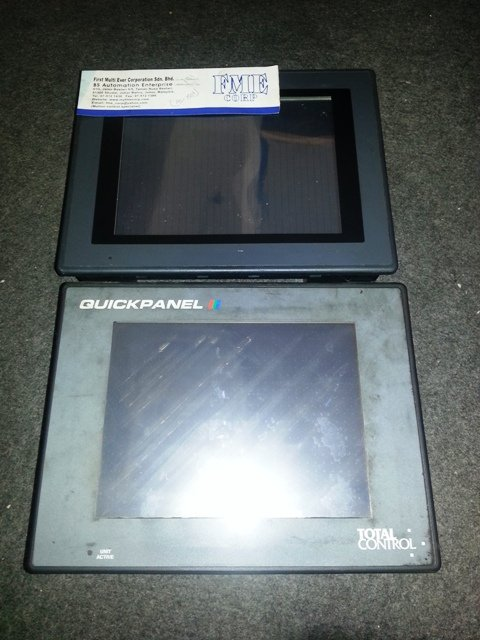TOTAL CONTROL QUICKPANEL  QUICK PANEL QPI21100S20 QPI21100C2P SERIES A USA REPAIR MALAYSIA INDONESIA