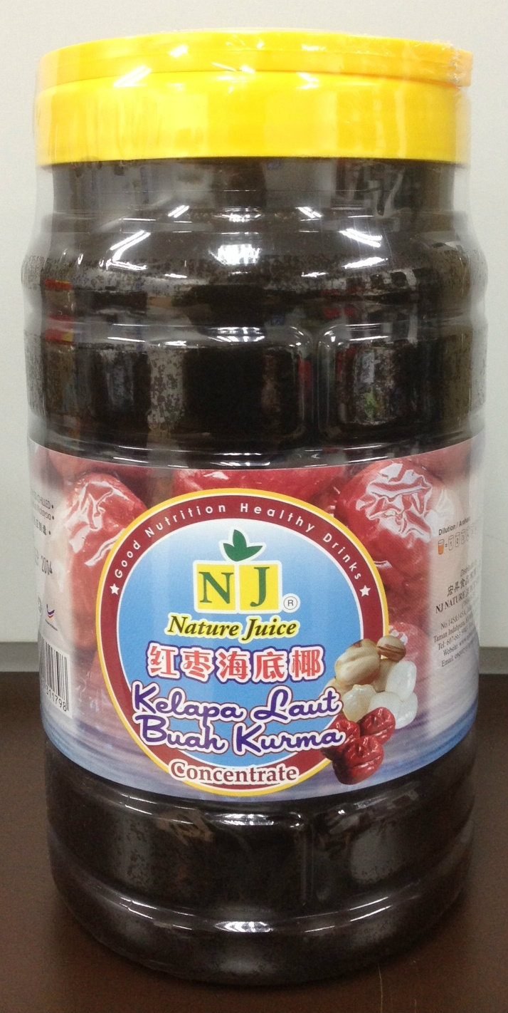 NJ Red Dates Seacoconut  2 L
