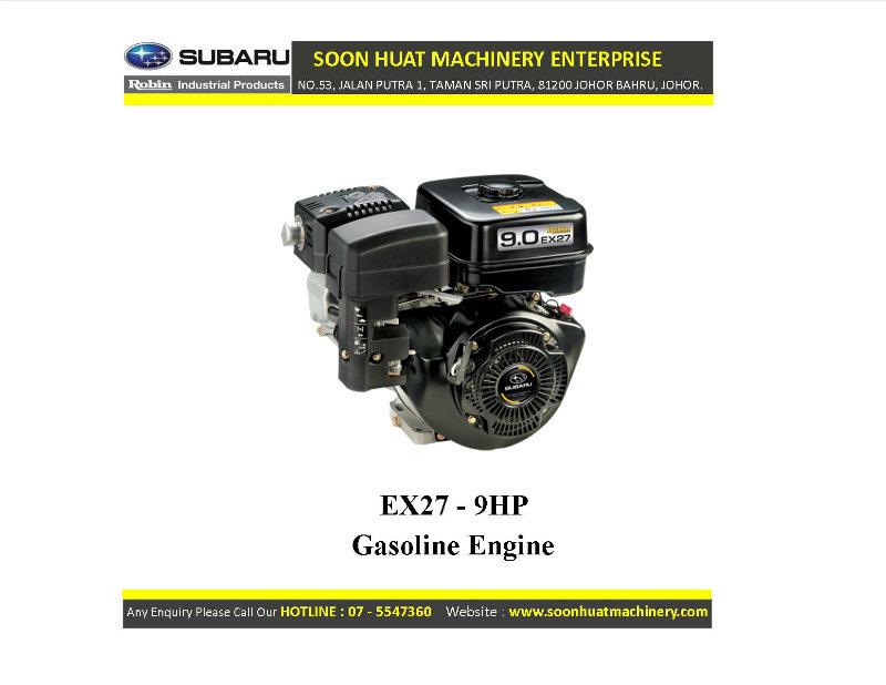Robin Subaru Gasoline Engine Johor Bahru Jb Malaysia
