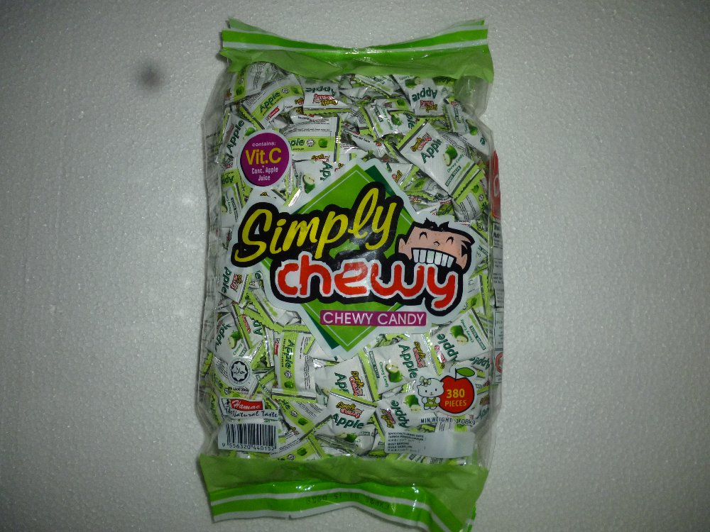 APPLE SIMPLY CHEWY 380PCS