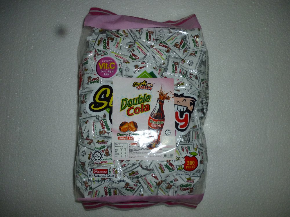 DOUBLE COLA SIMPLY CHEWY 380PCS