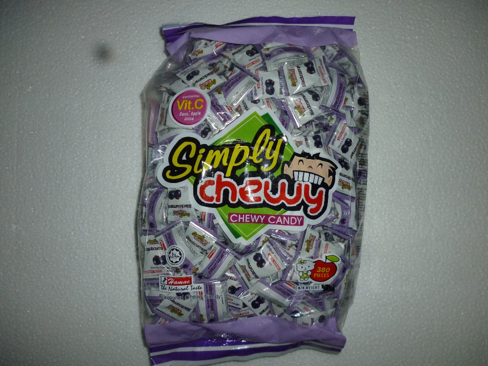 BLACKCURRANT SIMPLY CHEWY 380PCS