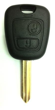 Citroen Genuine 2B Remote Key SIM7P