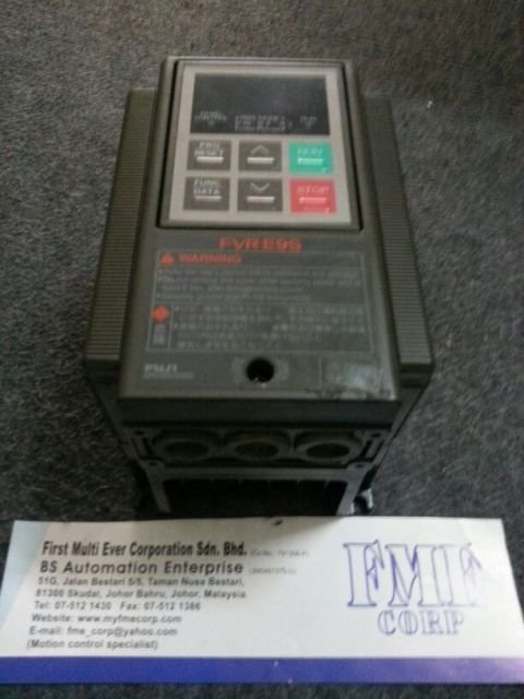 FUJI ELECTRIC INVERTER FVR.E9S FVR0.75E9S-4 FVR1.5E9S-4 FVR2.2E9S-4 REPAIR MALAYSIA INDONESIA